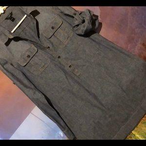 J. Crew Denim Dress